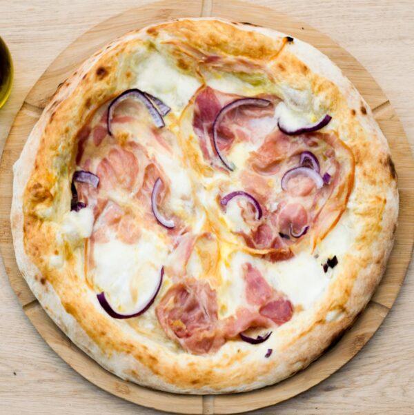 18. Pizza Carbonara